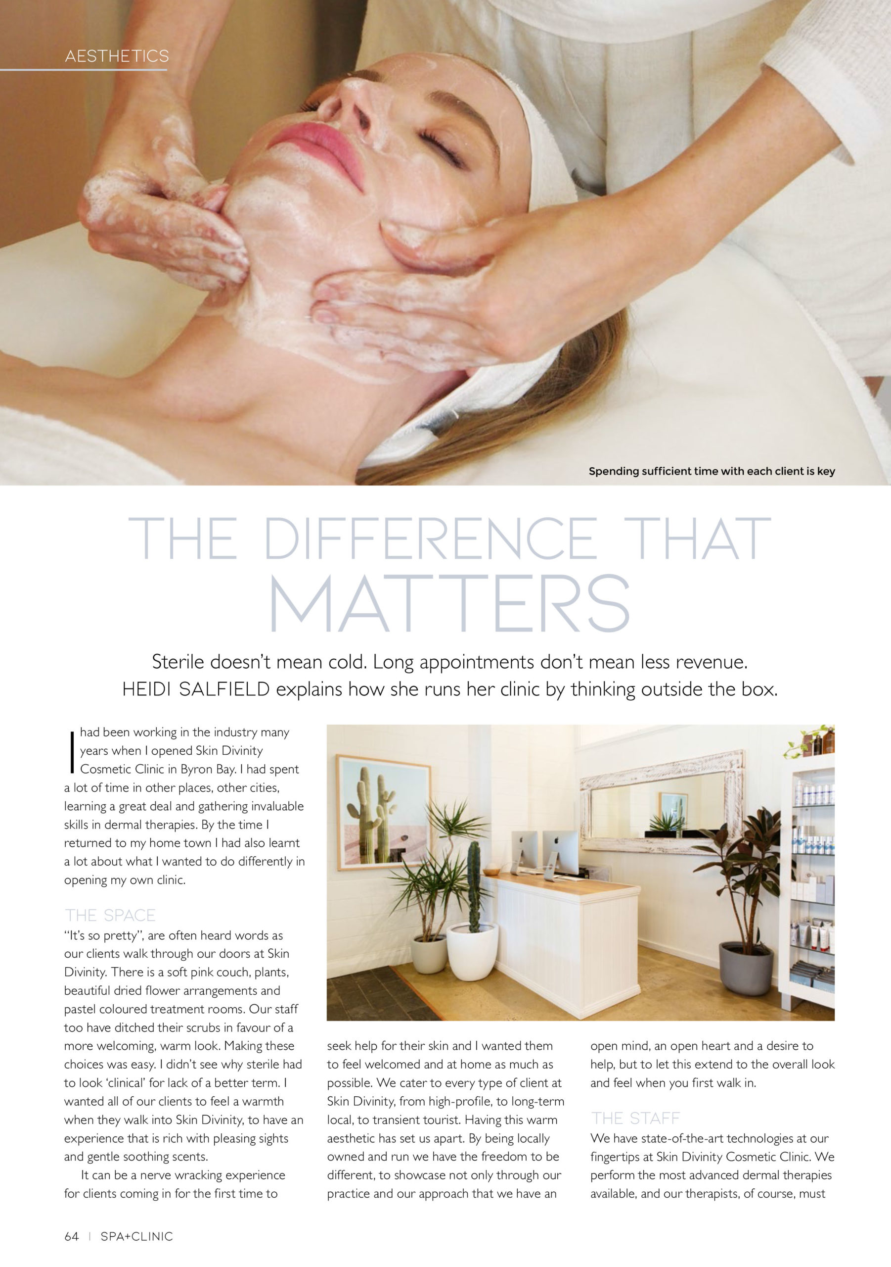 Article on Skin Divinity Cosmetic Clinic Spa+Clinic 1 - QLD, NSW