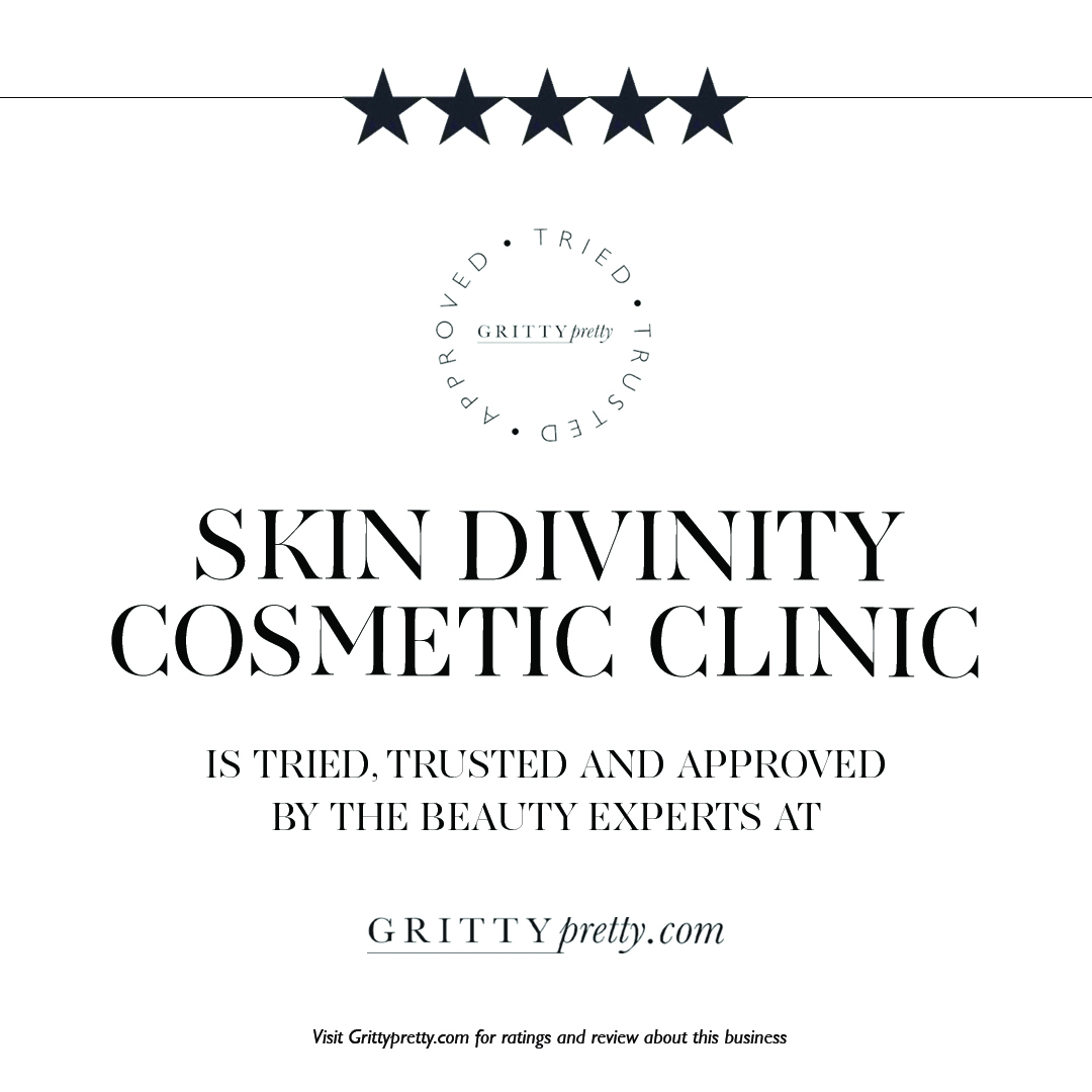 Skin Divinity Cosmetic Clinic 5 star rating by GrittyPretty - NSW, QLD